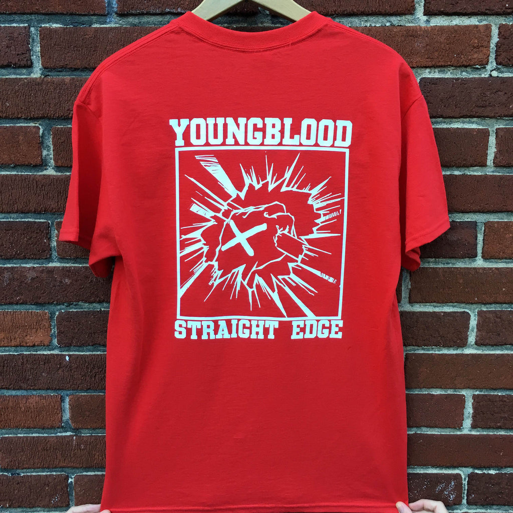 Youngblood Straight Edge Red T-Shirt