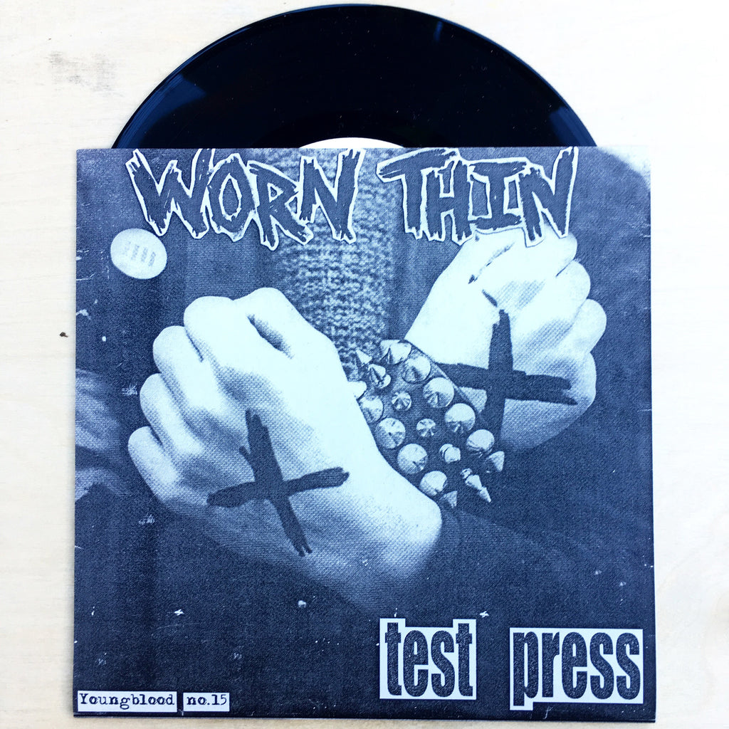 "Vault Copy: Worn Thin ""Remnants of What Could Have Been"" 7"" TEST PRESS"
