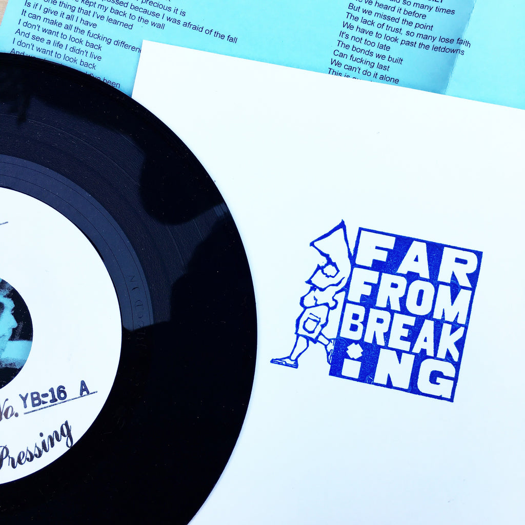"Vault Copy: Far From Breaking ""The Identity"" 7"" TEST PRESS"