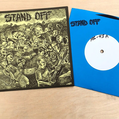 "Vault Copy: Stand Off ""S/T"" 7"" TEST PRESS"