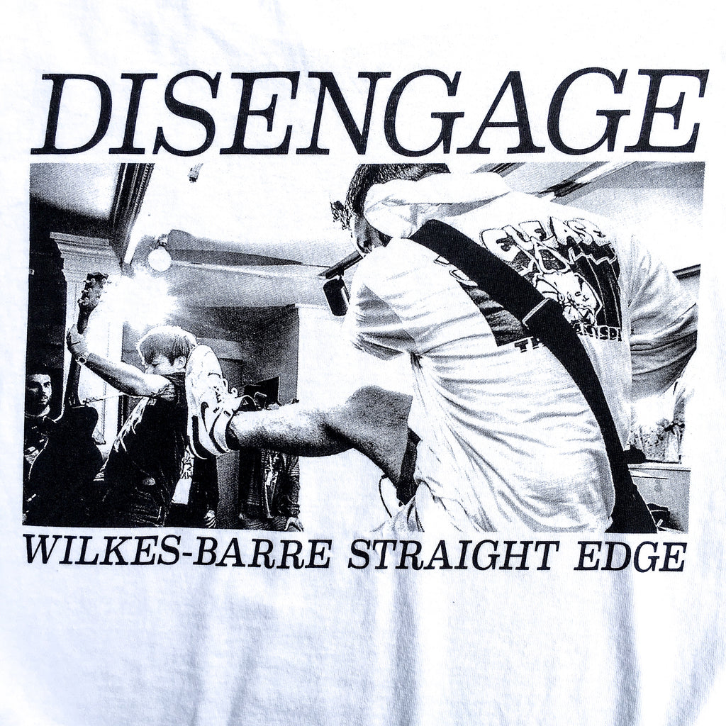 "Disengage ""Wilkes-Barre Straight Edge"" T-Shirt"