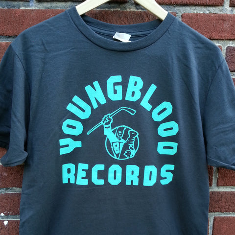 "Youngblood ""SC"" T-Shirt Charcoal w/ Mint Ink"