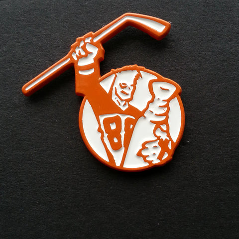 Youngblood Records Enamel Pin Orange