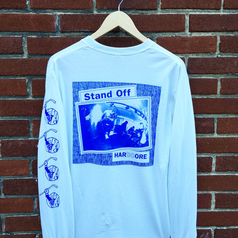 Stand Off 3 Sided Longsleeve White