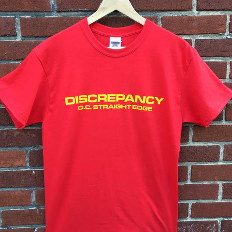 Discrepancy T-Shirt Red