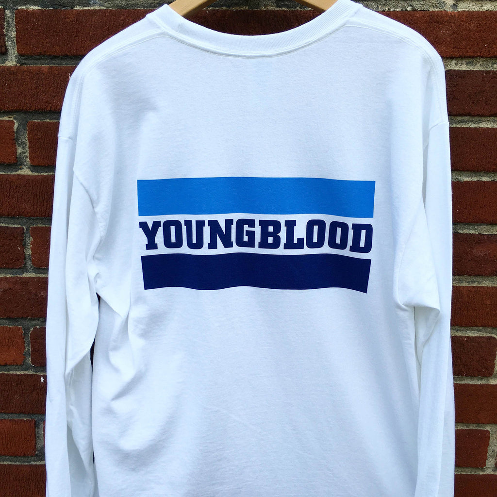Youngblood YBR Design White Longsleeve