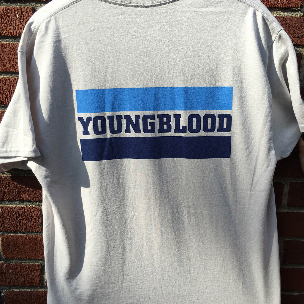 Youngblood YBR Design Ice Grey T-Shirt