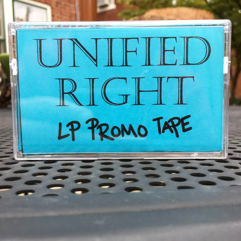 Unified Right LP Promo Cassette