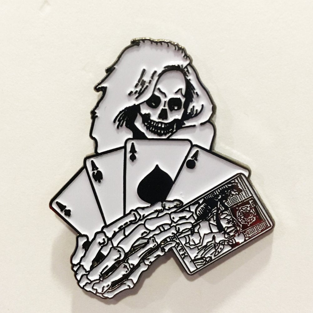 Death Dealer Enamel Pin from No More Industries