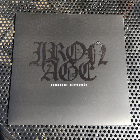 "Vault Copy: Iron Age ""Constant Struggle"" LP Record Release"