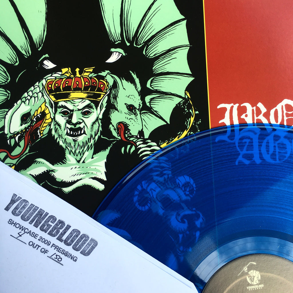 "Vault Copy: Iron Age ""Constant Struggle"" LP Youngblood Showcase Press"