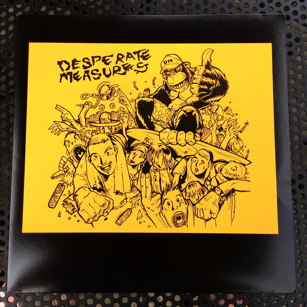 "Vault Copy: Desperate Measures ""Never Enough Time"" LP Record Release"