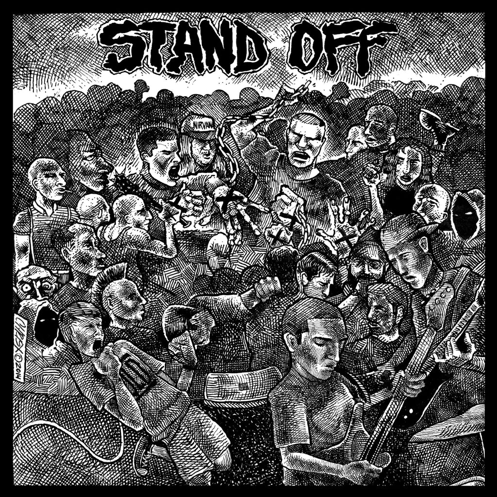 "Stand Off ""s/t"" 7"" Clear Vinyl"