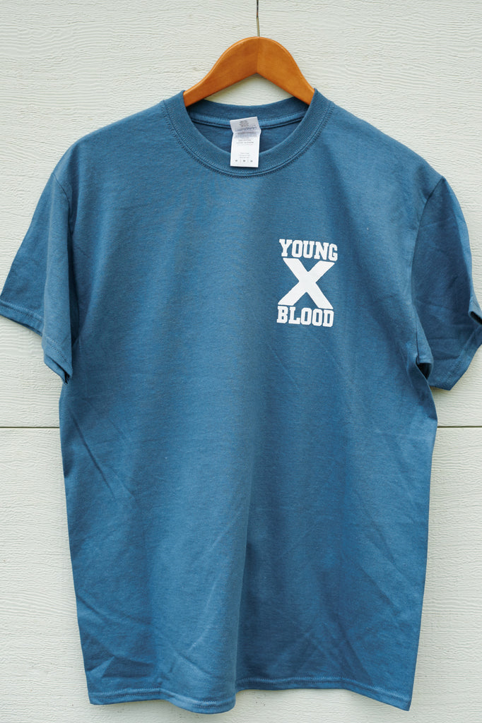 Youngblood Straight Edge Indigo T-Shirt