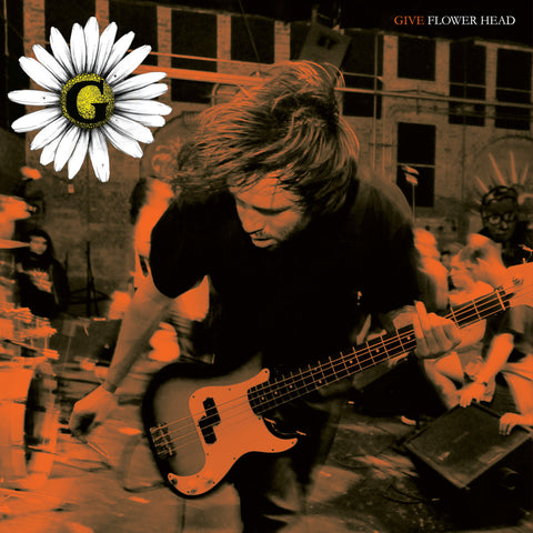 "Give ""Flower Head"" 7"" Black Vinyl"