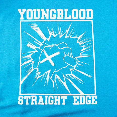 Youngblood Straight Edge Shirt Chalky Mint on Gildan Hammer