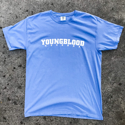 Youngblood Records Washed Denim Comfort Colors shirt (only one left in XL!)