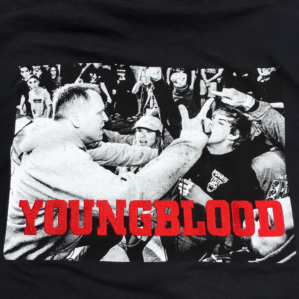 Youngblood Comfort Colors Embroidered T-Shirt Black