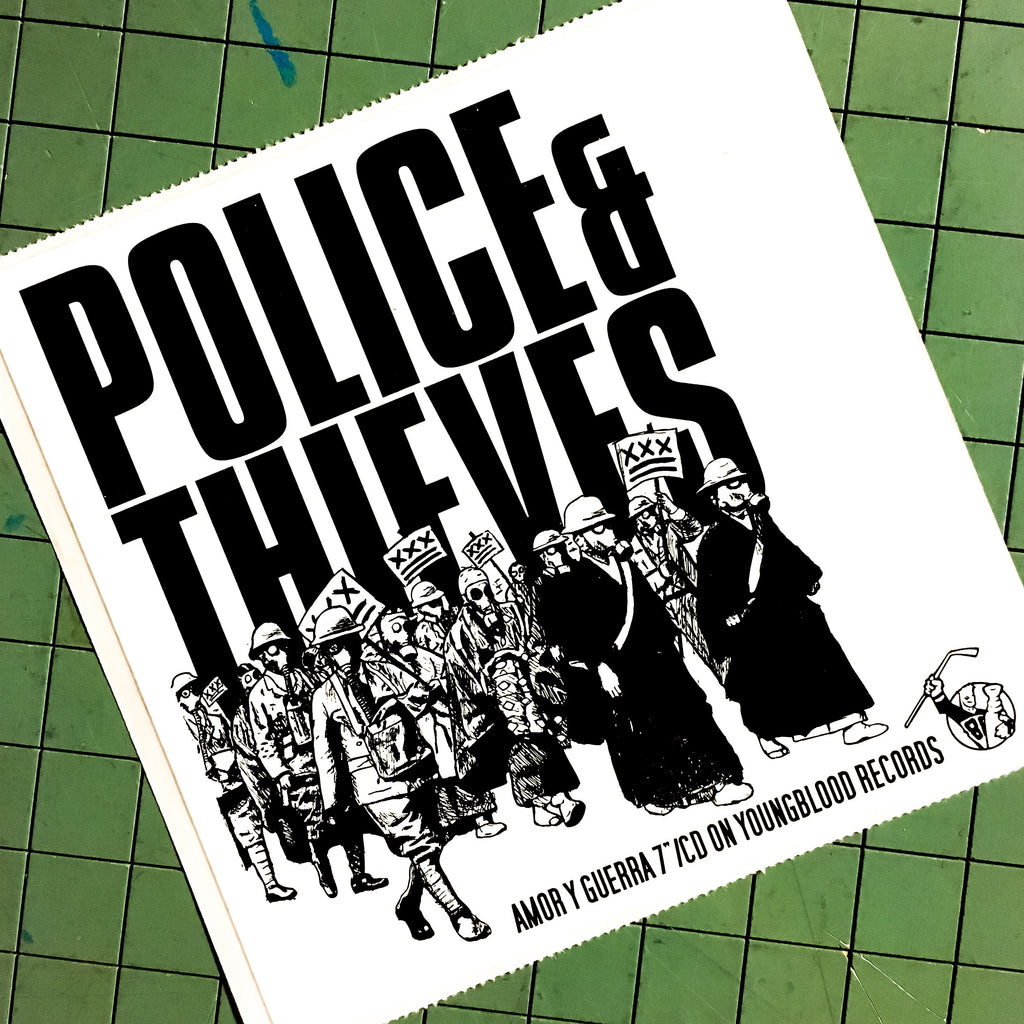 Police & Thieves Promo Sticker