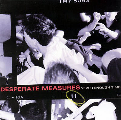"Desperate Measures ""Never Enough Time"" CD"