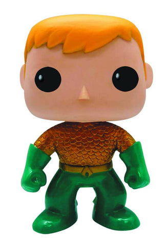 DC Heroes New 52 Aquaman Pop Vinyl Figure - PX Exclusive