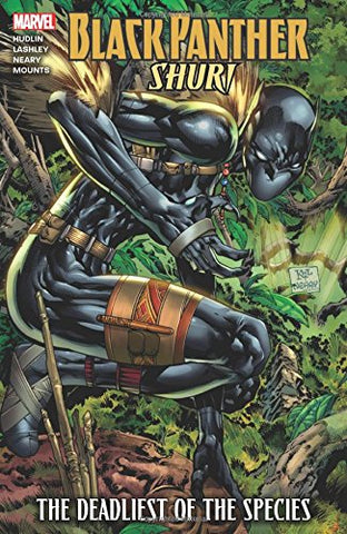 Marvel Comics Black Panther: Shuri - The Deadliest of the Species Trade Paperback Comic