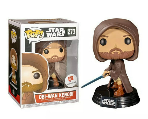 Star Wars Hooded Obi Wan POP Vinyl Figure