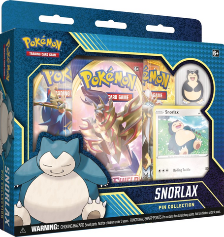 Pokemon TCG Snorlax Pin Collection