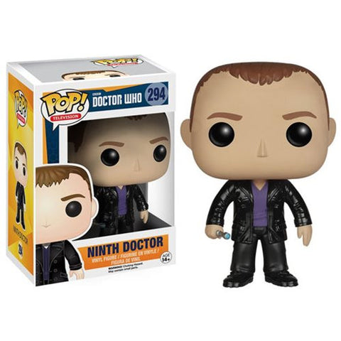 Doctor Who Ninth Doctor Pop! Vinyl Figure VAULTED