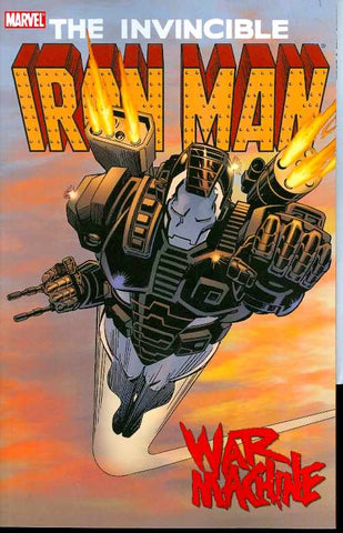 Iron Man War Machine Trade Paper Back Comic