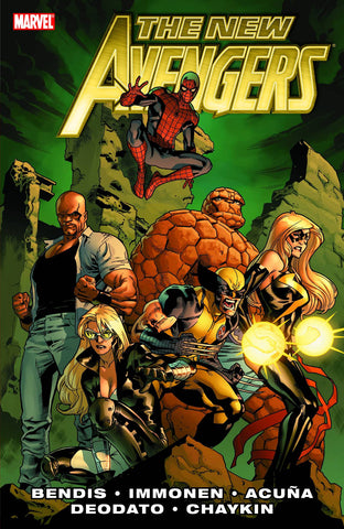 NEW AVENGERS BY Brian Michael Bendis Trade Paperback Comic VOL 02