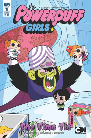 POWERPUFF GIRLS TIME TIE #1 (OF 3) FUNKO ART VAR IDW PUBLISHING Comic Book