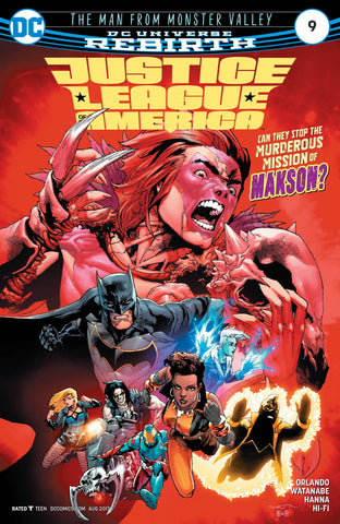 JUSTICE LEAGUE OF AMERICA #9 DC COMICS