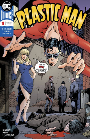 PLASTIC MAN #1 (OF 6) DC COMICS