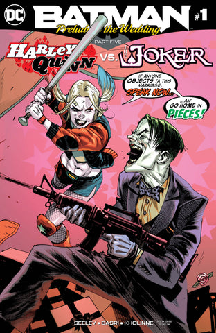 BATMAN PRELUDE TO THE WEDDING HARLEY VS JOKER #1 DC COMICS