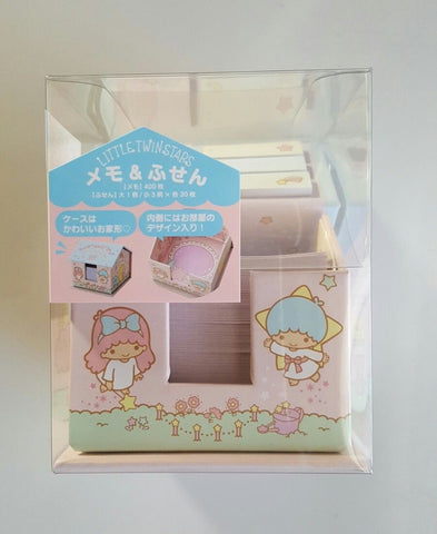 Little Twin Stars Sticky Notes House Holder