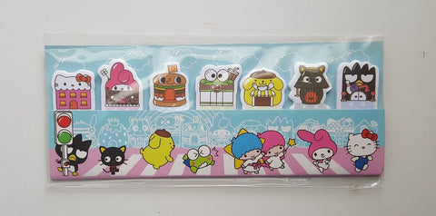 Hello Kitty Sanrio Characters Paper Stick Marker Notebook Stickers
