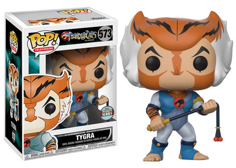 POP TV - Thundercats Tygra Pop Vinyl Figure - Specialty Series Exclusive