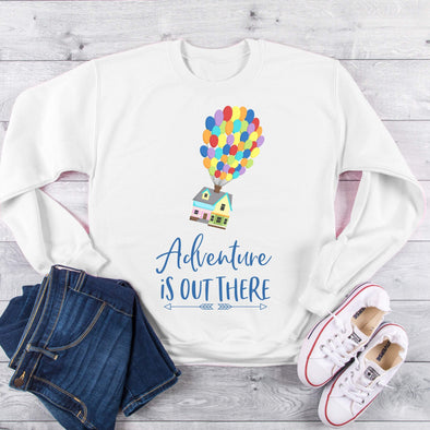 Sweatshirt, Up Sweatshirt   Sweatshirt for Women, womens  shirt,  Up Sweatshirt, Pixar Sweatshirt,