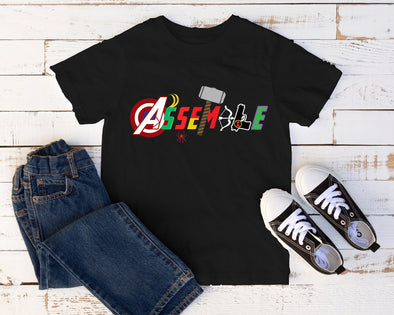 Marvel, Kids Shirt,  Shirt, Avengers Endgame,  Cruise, ,  T Shirt, Marvel Comics, Iron Man, Thor Spiderman