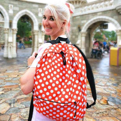 Backpack,  Bag, Minnie Mouse, Polka Dot, Minnie Mouse Backpack, Backpack Women,  Bags, Girls Backpack, Laptop Backpack