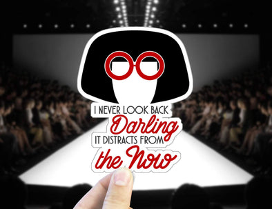 Edna Mode,  Sticker, Laptop Sticker, Vinyl Stickers,  Laptop Sticker, Vinyl Decal,  Gifts, Incredibles, Pixar