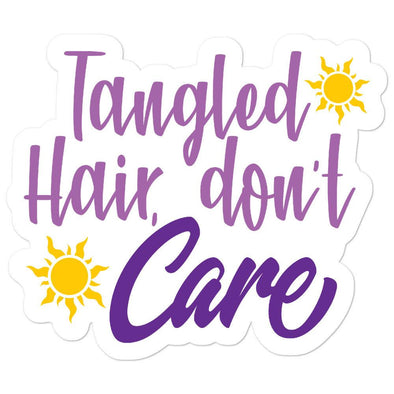 Tangled, Rapunzel, Princess Sticker,  Sticker, Laptop Sticker, Vinyl Stickers,  Laptop Sticker, Vinyl Decal,  Gifts, Sun