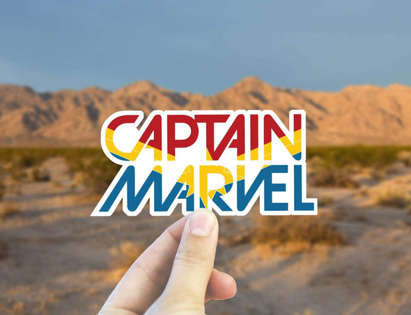 Captain Marvel Sticker