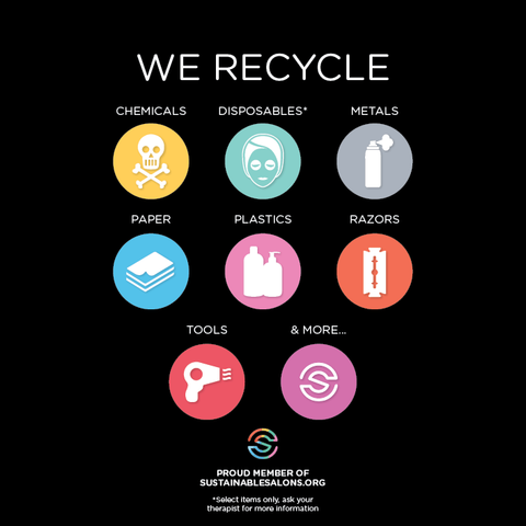 We are a Sustainable Salon – Morgan and Morgan