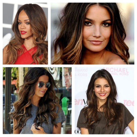 Ash Tones Ombre Hair Color For Whitle Skin