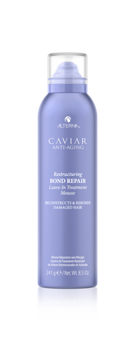 Alterna Caviar Anti-Aging RESTRUCTURING BOND REPAIR Leave-in Treatment Mousse