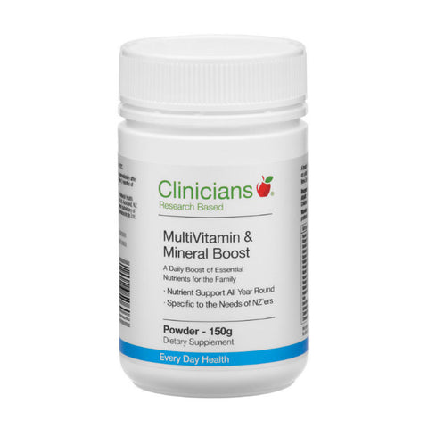 Clinicians MultiVitamin & Mineral Boost Powder 150g