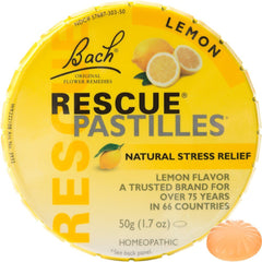 BACH Rescue Pastilles Lemon 50g