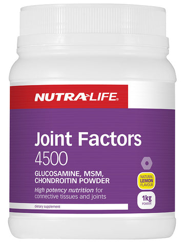 Nutralife Joint Factors 4500 Lemon